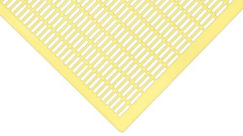 10 Liebig DN compatto alveare DN griglia rotonda in plastica giallo