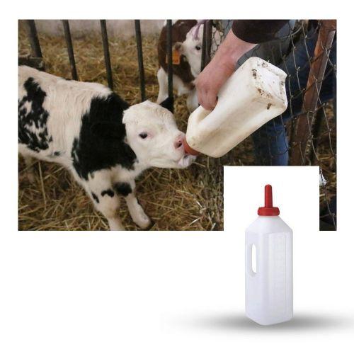 Bottiglia di latte di vitello
