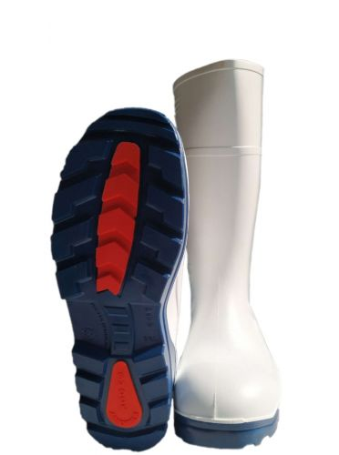 Stivali Agritura S4 alti bianchi