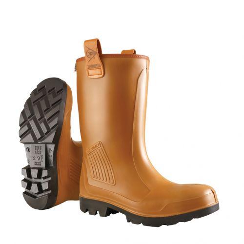 Nuovi stivali per uomo Dunlop Purofort Rig-Air Fur Lining full safety, S5 - C462743.FL