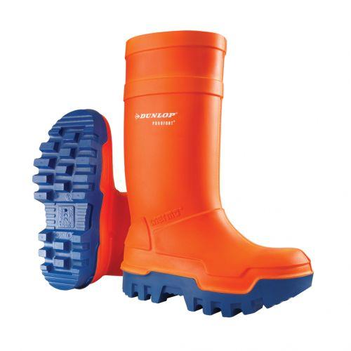 nuevo producto 0b8e3 ffb82 Botas Dunlop Thermo naranja, S5 - C662343