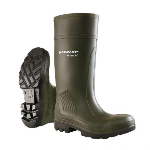 grande vendita c7b9f a4e3b Stivali Professionali Dunlop Purofort Professional Verde Scuro ...