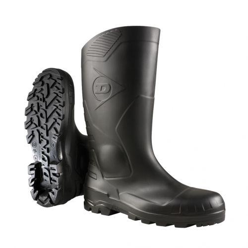 Stivali Dunlop Devon full safety nero, con protezione in metallo, S5 - H142011