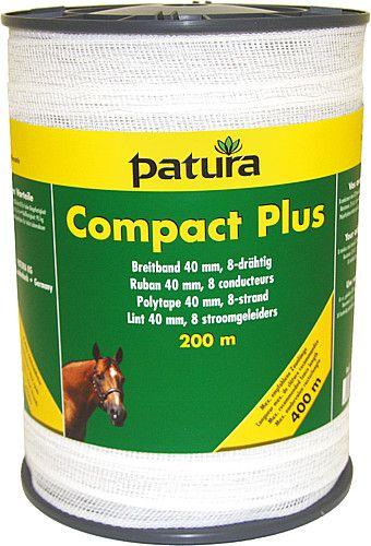 Compact Plus Polytape 40 mm, 8 fili, 0,30 millimetri, bianco, 200 m spool - 188600