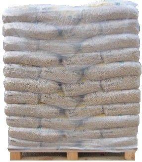 Pellet di legno, Pallet da 66 sacchi X 15KG