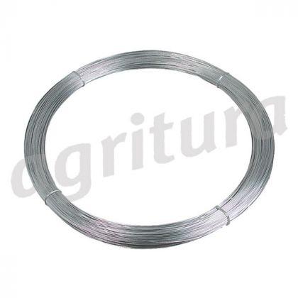 Tornado filo di acciaio 2,5 millimetri in lega di alluminio-diam.zinc, 25 kg circa. 625 m - A14488