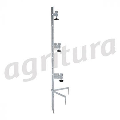 Montaggio Messaggio speciale forup a 3 ruote, altezza recinzione fino a 1,00 m - A17924