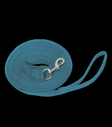 Longierleine Griffy blau