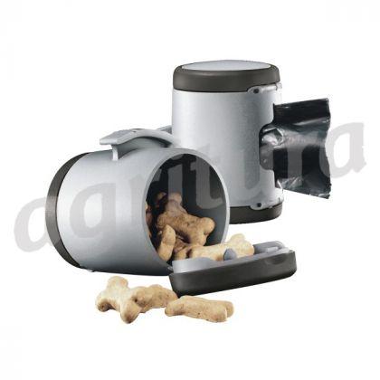 Contenitore multiuso flexi, per biscottini o sacchetti igienici