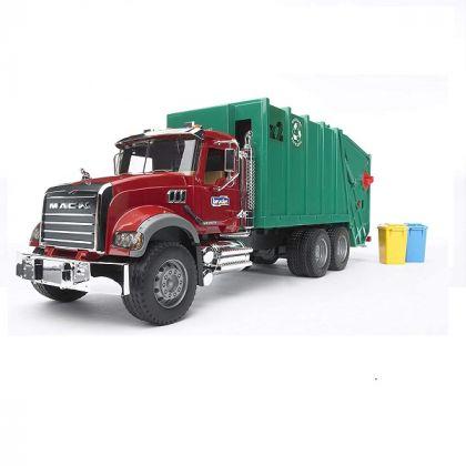 Bruder - Granit Mack rifiuti di trasporto, verde