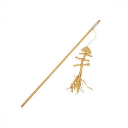 Riproduzione di canna da pesca Fishbone Nature-82629