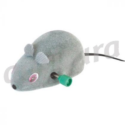 Topino topo molla gioco muove gatti