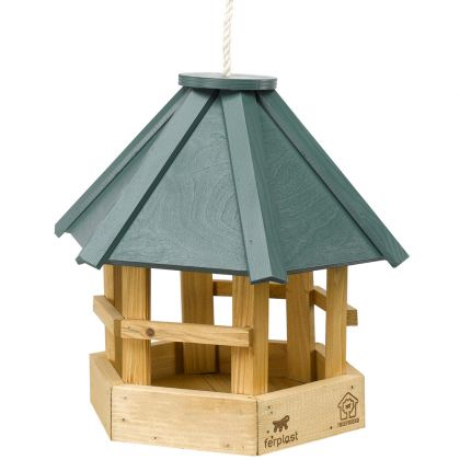 mangiatoia per uccelli in legno 8