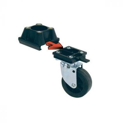 Räder-Set für Atlas-Hundetransportboxen L388