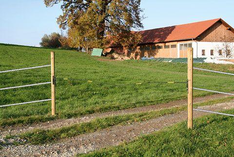 Barriera elettrica per bestiame Electro Gate