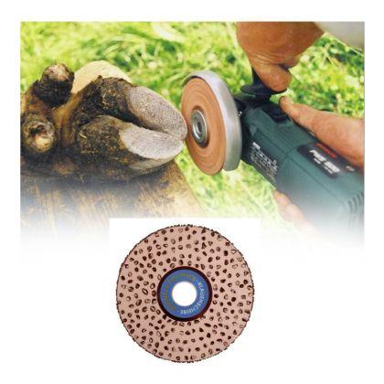 Disco abrasivo bifacciale rivestito in teflon