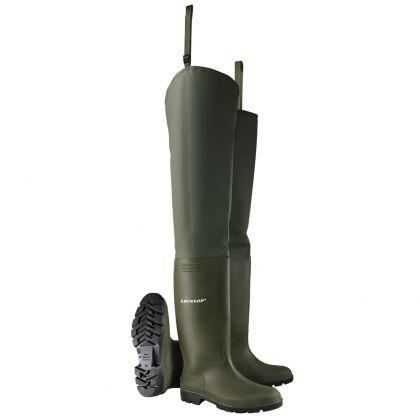 Dunlop Pricemastor Thigh Wader Botas, Sin puntera de acero - 386VP