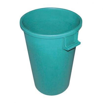 Mülleimer grün