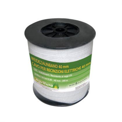 Fettuccia Per Recinzioni Elettriche 40 mm