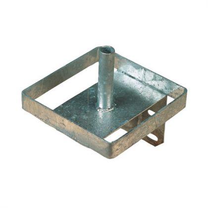 Lecksteinhalter Metall