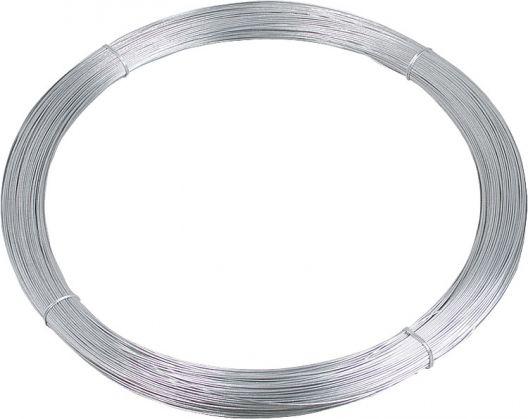 Tornado filo di acciaio 2,5 millimetri in lega di alluminio-diam.zinc, 25 kg circa. 625 m