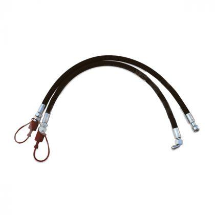 Coppia di  tubi idraulici con connettori