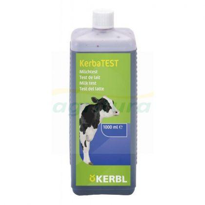 Liquido per test del latte e bottiglia dosatrice KerbaTEST