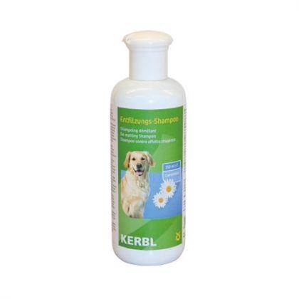 Shampoo districante per cani a pelo lungo