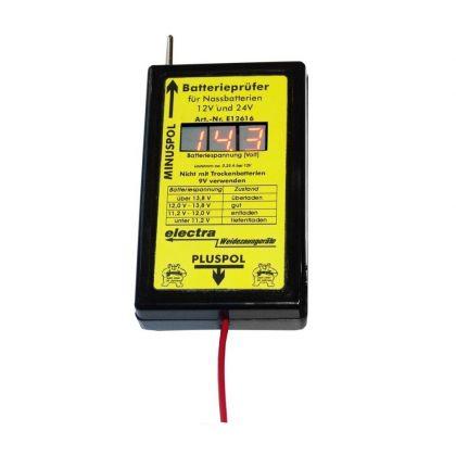 Batterieprüfer 12V + 24V