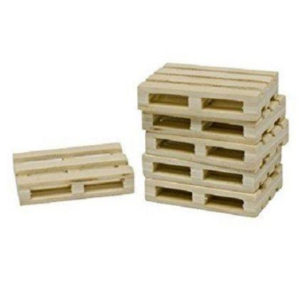 Pallet di legno set di 8 pezzi
