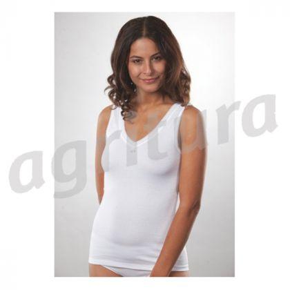 Shirt smanicata GOTS3.0IMO 100.561 - bianco