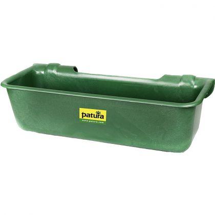 Plastica Lungo Trogolo , 32 l, verde, tipo appendere