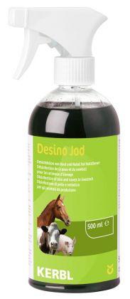 """Spray disinfettante a base di iodio """"Desino Jod"""" adatto a tutte le specie animali"""