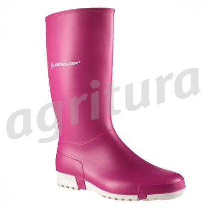 Nuovo Dunlop Sport Stivali massimo comfort Di Sicurezza Donna In PVC Gomma