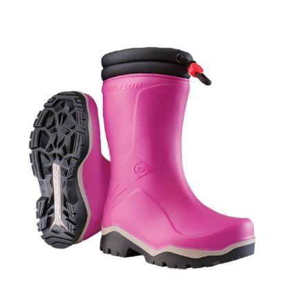 Stivali per bambini Dunlop Blizzard - Rosa