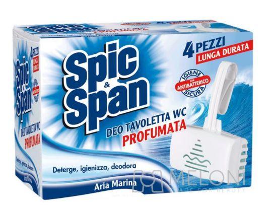 Spic&Span Deo Tavoletta Wc 4 Pz Aria Marina