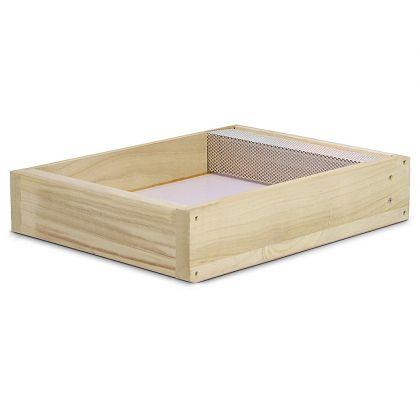 10 sistema telaio rivestimento in legno alveare