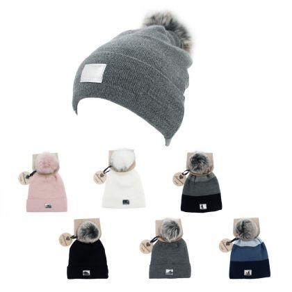 Cappelli Lady Hat + Pom Pom
