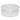 Mangiatoia in plastica da 2 litri rotonda