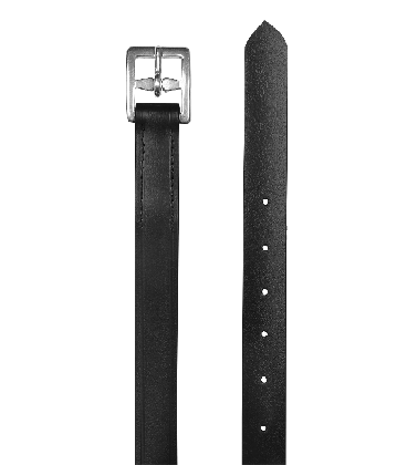 Steigbgelriemen schwarz 140cm