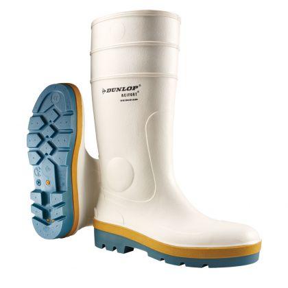 Stivali Dunlop Acifort Tricolore Bianco / Blu, Senza Puntale In Acciaio - B780331