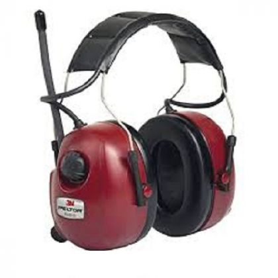 Gehörschutz mit Stereoradio Peltor mit Audioeingang für MP3-Player