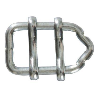 Connettore zincato per nastri elettrificati