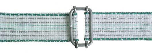 connettore per nastri elettrificati in acciaio inossidabile