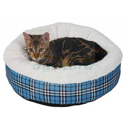 Cuccia morbida soffice gatti rotonda