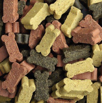 Ossetti bocconcini masticare cani mix tre gusti