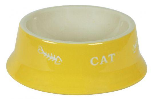 ciotola in ceramica gatto