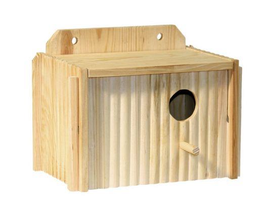 Cassetta da nidificazione per parrocchetti