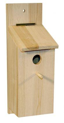 Cassetta per nidificare, kit per autocostruzione per paridi