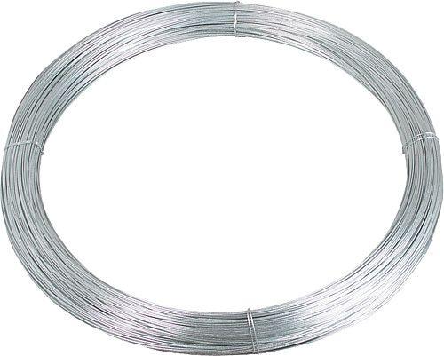 Filo inox da 2,5 mm di diametro., Thicklygalvanised, 25 kg bobina = circa. 625 m